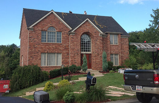 Roofing Installation by a company in the Pittsburgh, Washington and Allegheny areas